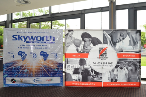 "Skyworth sponsors ""SANCO Charity Golf Day,"" One of the Largest Charity Golf days is South"