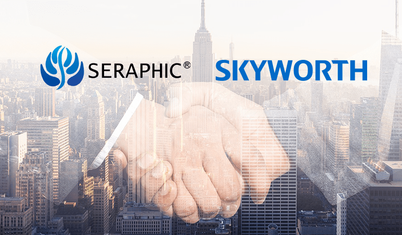 Skyworth teams up with SERAPHIC