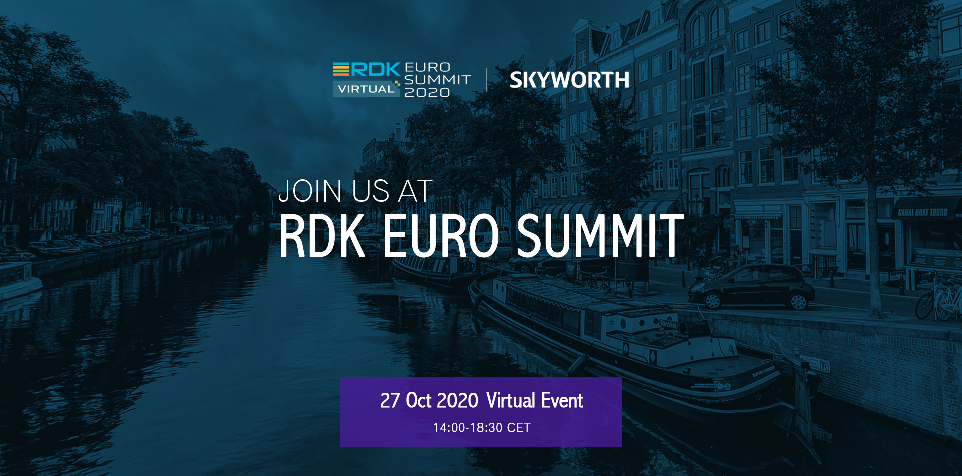 SKYWORTH Will Attend RDK Euro Summit 2020 and brings the world's first RDK Video Accelerator Based on Amlogic